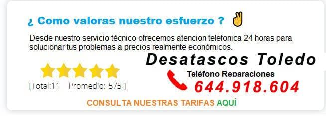 TARIFAS-PRECIO-DESATASCOS-TOLEDO